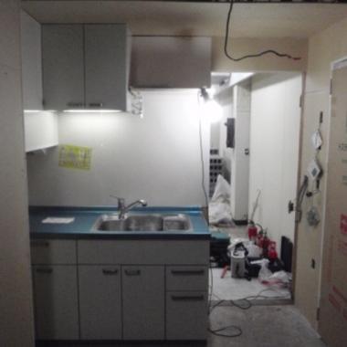 キッチンの低さを解消しよう!の施工後写真(0枚目)