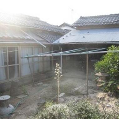 解体工事後 建物外観