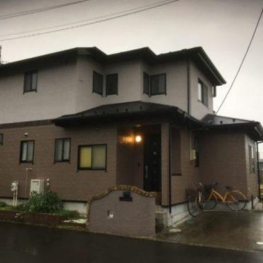 屋根外壁塗装後 住宅外観