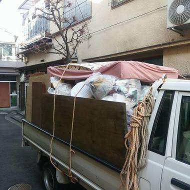 不用品回収 軽トラック