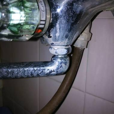 浴室 蛇口交換