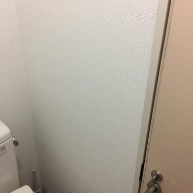 トイレ内 クロス(壁紙)貼替工事 価格4万円(税込)の施工後写真(0枚目)