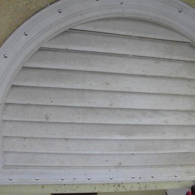 駆除後の屋根の通気口