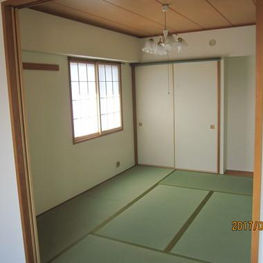 エアコン クリーニング | 施工後の和室