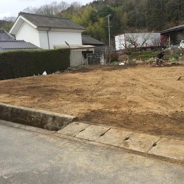 解体工事後の敷地