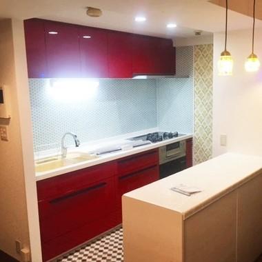 LIXIL[アレスタ」でマンションの独立型キッチンをオシャレなオープンキッチンにの施工後写真(0枚目)