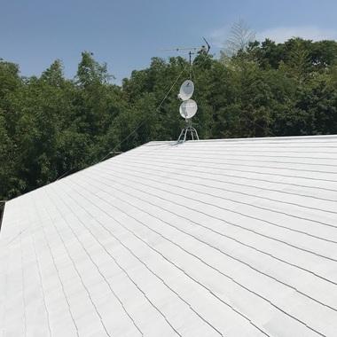 遮熱塗料で快適な住まいの施工後写真(0枚目)