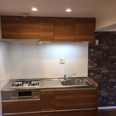 キッチンのリフォームの施工後写真(0枚目)