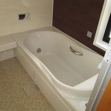 使い勝手の良いシステムバス、トイレ、洗面化粧台のリフォームの施工後写真(0枚目)