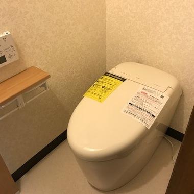 トイレ改装工事・キレイで収納や安心にこだわりました。の施工後写真(1枚目)