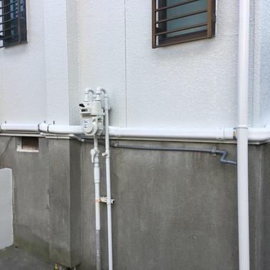 温水配管のダクトカバー施工の施工後写真(0枚目)