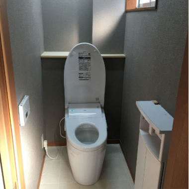 事務所のトイレ 改修の施工後写真(0枚目)