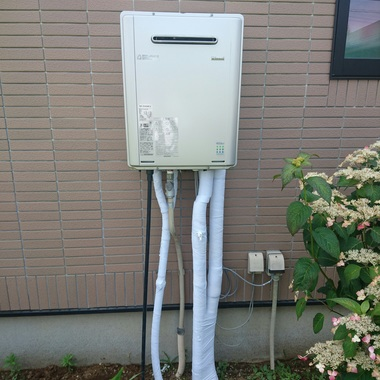 エコジョーズ給湯器への取替工事 完了