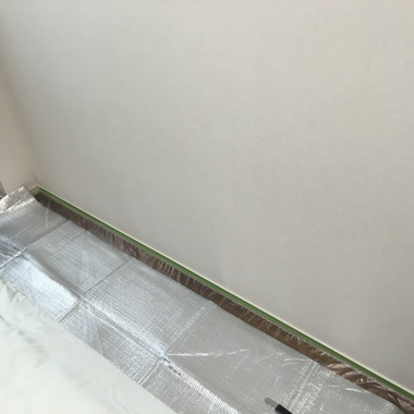 壁の凹み補修 完了