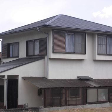 屋根塗装 完了