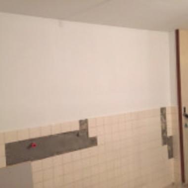 内装壁 塗装 完了