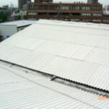 屋根工事 完了
