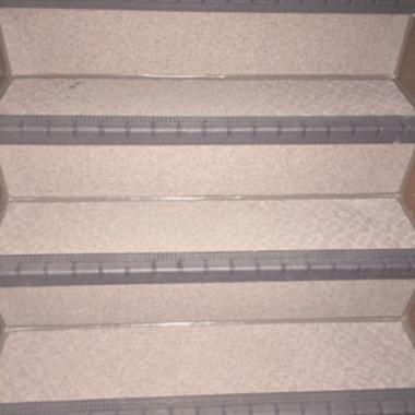 階段 リフォーム | 外階段リフォーム完了 階段 アップ画像