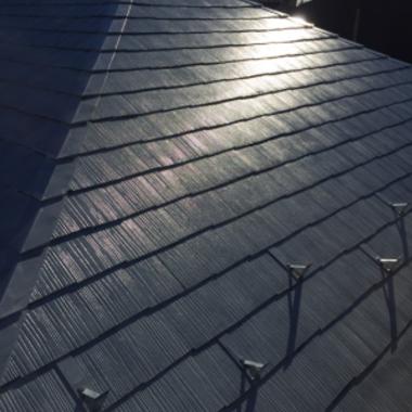外装工事 完了 屋根