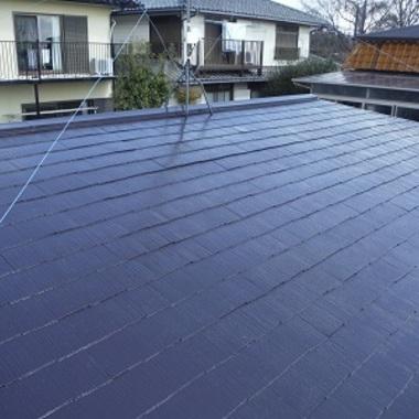 屋根塗装 修繕 完了
