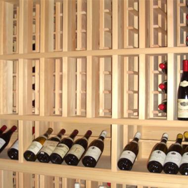 酒屋 ワイン棚1 設置