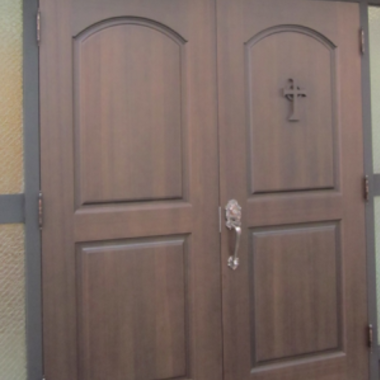 教会 ドア交換 完了