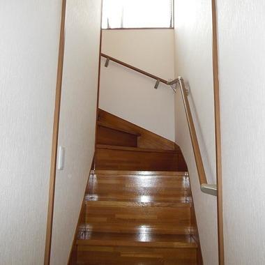内装リフォーム完了 階段