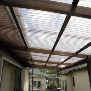 テラス 屋根修理後