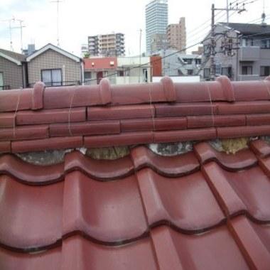 屋根修理後
