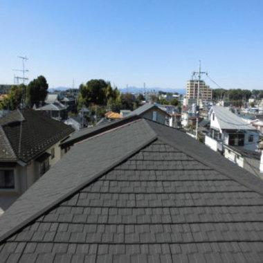 屋根 メンテナンス後