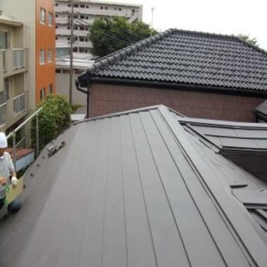 屋根 葺き替え後