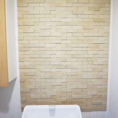 トイレの壁 エコカラット施工 施工後
