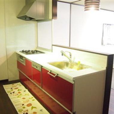 大阪府 キッチンリフォーム 和室を洋室に 後 キッチン