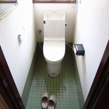 トイレ交換完了