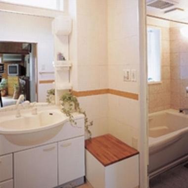 洗面室リフォーム完了