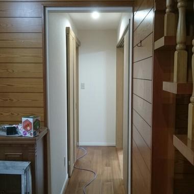 玄関廊下リフォーム完了 廊下