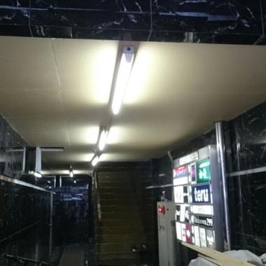 ビル 天井工事完了