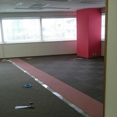 オフィス パーティションの解体と補修完了