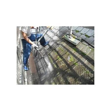 屋根の腐食部分を張替えて塗装の施工前写真(0枚目)