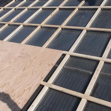 名古屋昭和区✕ソーラーパネルの修理✕施工が難しい所もお任せな工事の施工前写真(0枚目)