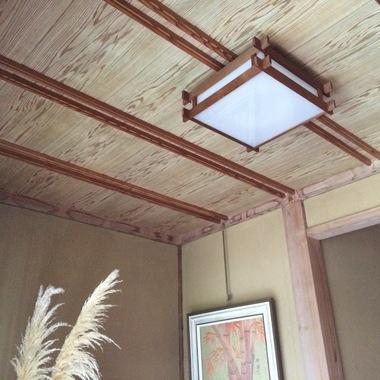 朝倉市✕天井張替え工事他✕綺麗な仕上がりの工事の施工前写真(0枚目)