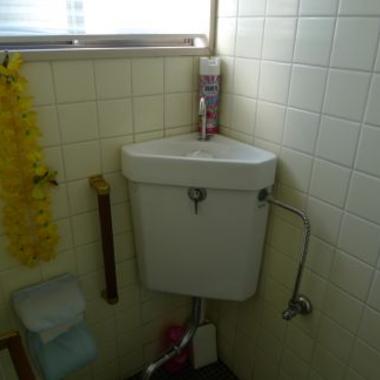 トイレタンク取り外し前