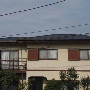 雨漏りのある屋根補修前