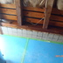 床下地合板材の一時撤去
