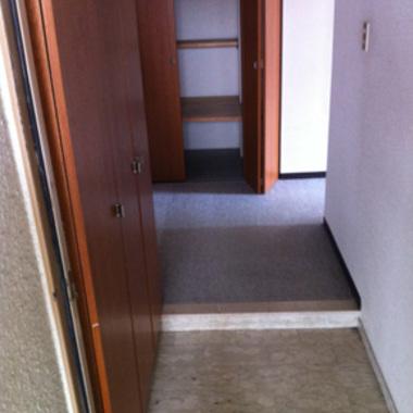 玄関回り施工前