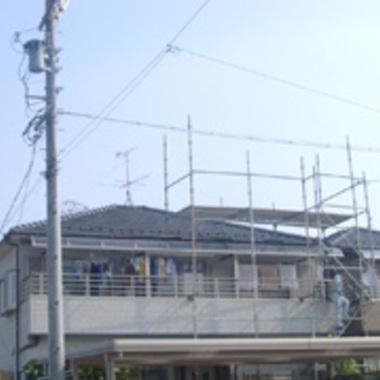 三菱PV4.620kWシステム 施工前