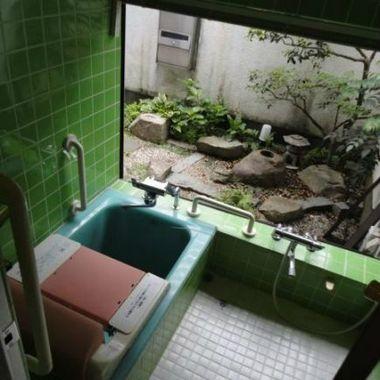 バスルームのリフォーム前