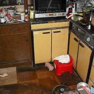 キッチンリフォーム前 別角度