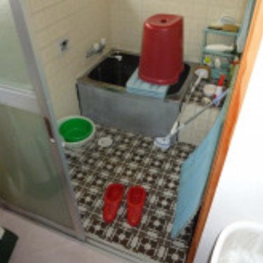我孫子市 入りやすいお風呂にの施工前写真(0枚目)