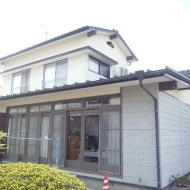 佐賀市 外部塗装 シリコン樹脂の施工前写真(0枚目)